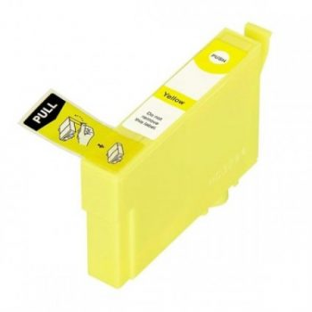 3474 - Cartouche d'encre équivalent EPSON T374 compatible « BALLE DE GOLF » JAUNE XL