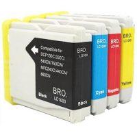 970 - Cartouche d'encre équivalent BROTHER LC-970VALBP compatible (LC970) PACK 4 COULEURS