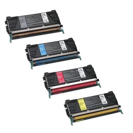 5222 – Toner laser équivalent  LEXMARK C5222  compatible PACK 4 COULEURS