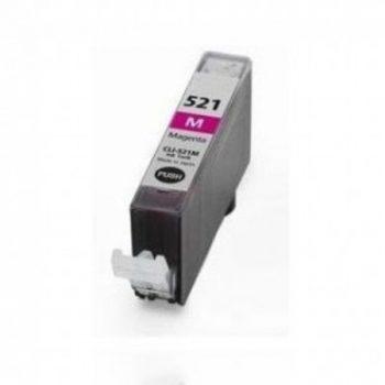 521 - Cartouche d'encre équivalent CANON CLI-521M compatible 2935B001 (CLI521) - MAGENTA