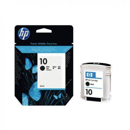 10 – Cartouche d'encre originale HP-10 C4844A (HP10) NOIR