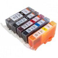 525 - Cartouche d'encre équivalent CANON PGI-525 compatible (PGI525)-CLI-526 (CLI526) PACK 5 CARTOUCHES