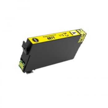 EPSON 407 Compatible ( série clavier) Cartouche Jaune XL C13T07U140