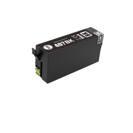 407 - EPSON 407 Compatible ( série clavier) Cartouche Noire XL C13T07U240