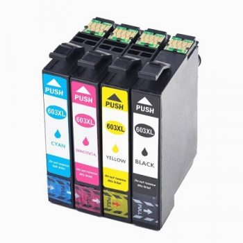603 - Cartouches EPSON compatibles 603 XL ( série étoile de mer) Pack 4 cartouches en XL