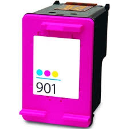 901 - Cartouche d'encre équivalent HP-901XL compatible CC656AE (HP901) TRICOLOR XL