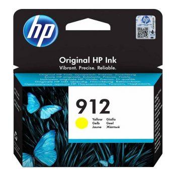 Cartouche à la marque orignale HP 912 Jaune 3YL79AE