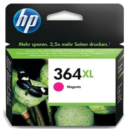 364 – Cartouche d'encre ORIGINALE HP-364XL-CB324EE (HP364) MAGENTA XL