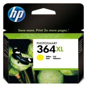 364 - Cartouche d'encre ORIGINALE HP-364XL-CB325EE (HP364) JAUNE XL