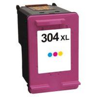 304 - Cartouche d'encre équivalent HP 304XL compatible N9K07AE (HP304) TRICOLOR XL