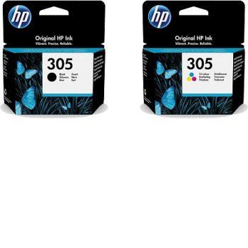 HP Multipack 305 (3YM61AE/3YM60AE) noir et couleur