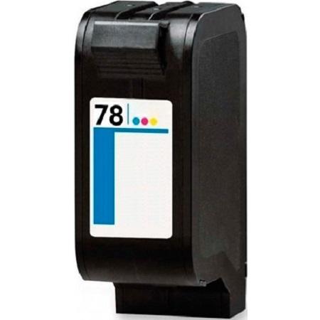 Cartouche d'encre équivalent HP 78 compatible C6578AE (HP78) Tricolor