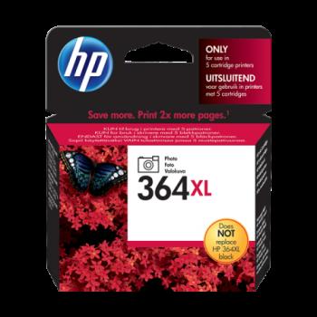 364 - Cartouche d'encre ORIGINALE HP 364XL CB322EE (HP364) NOIRE PHOTO XL