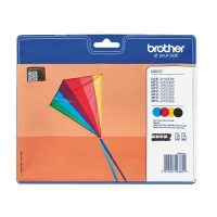 223 - BROTHER ORIGINALE LC223 VALBP (LC 223) PACK 4 COULEURS