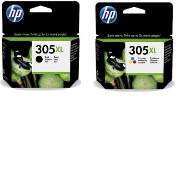 Multipack originale HP 305XL Noir et Couleur