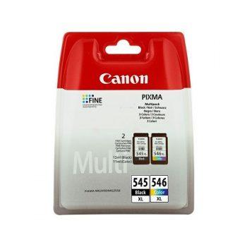 Cartouche d'encre CANON PG 545XL et CL 546XL Noir et Tricolor 8286B007