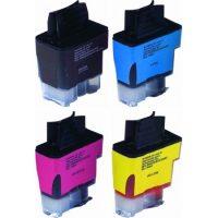 900 - Cartouche d'encre équivalent BROTHER LC-900VALBP compatible (LC900) PACK 4 COULEURS