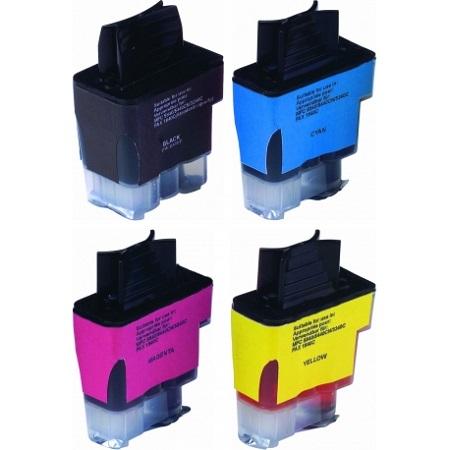 900 – Cartouche d'encre compatible équivalent BROTHER LC-900VALBP (LC900) PACK 4 COULEURS