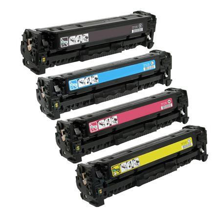 305 – Toner laser équivalent HP-305X – CE410-CE411-CE412-CE413 (HP305) compatible PACK 4 COULEURS