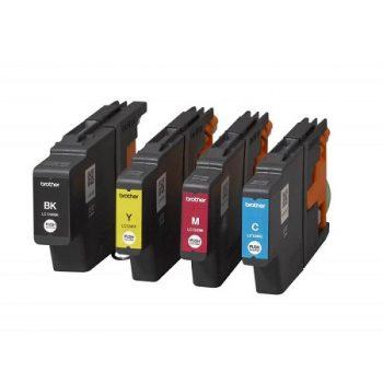 Cartouche d'encre équivalent BROTHER LC 1240VALBP XL compatible (LC12400) Pack 4 Couleurs