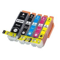 3357 – Cartouche d'encre équivalent EPSON T3357 XL compatible  « Oranges » PACK 5 CARTOUCHES XL