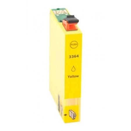 3364 - Cartouche d'encre équivalent EPSON T33 XL-T3364 compatible « Oranges » JAUNE