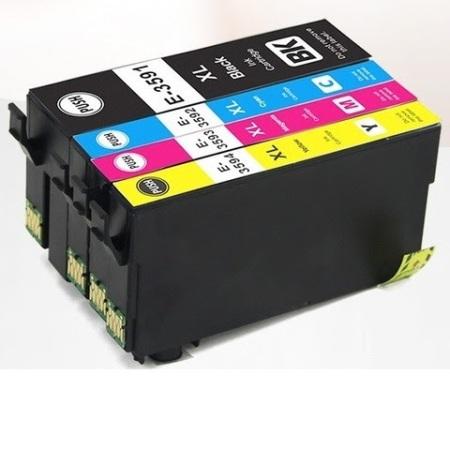 3596 – Cartouche d'encre équivalent EPSON T3596 compatible « CADENAS » PACK 4 COULEURS XL